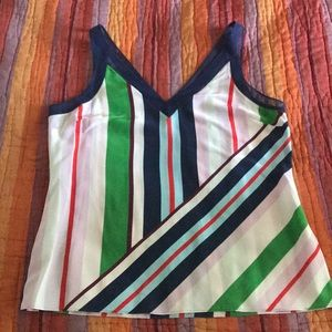 Ted Baker stripe tank top